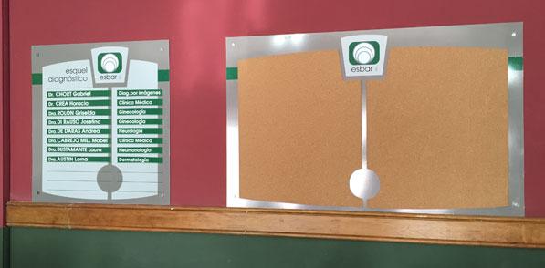 Nomenclador y Cartel de Información