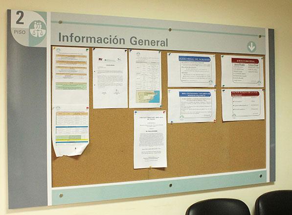 Cartel de información