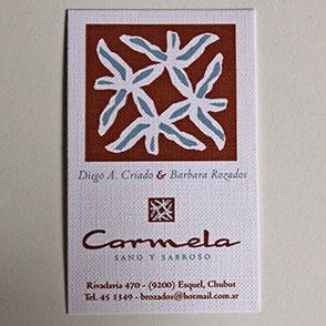 Tarjeta Comercial Carmela