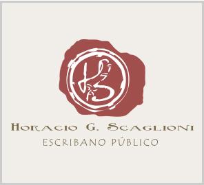 Logo Escribanía Scaglioni